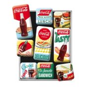 Set de magneti Coca-Cola Delicious