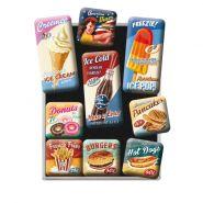 Set Magneti American Diner