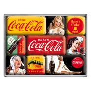 Set magneti Coca-Cola -Yellow Mix