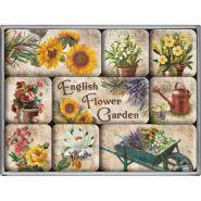 Set magneti English Flower Garden