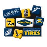 Set magneti Goodyear Logos