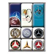 Set magneti Mercedes-benz Logos