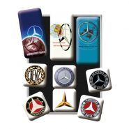 Set magneti Mercedes-benz Logos