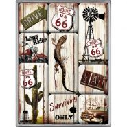 Set magneti Route 66 - Survivor