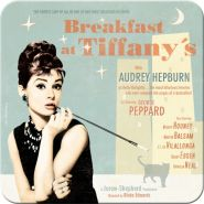 Suport pahar Breakfast at Tiffany's Blue