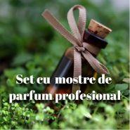 Set mostre cu parfum profesional
