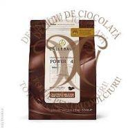 Ciocolata cu lapte Power 41, Barry Callebaut, Dropsuri, 40,7% cacao la 2,5 Kg