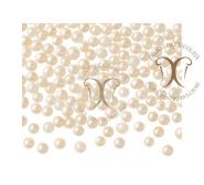 Perle Ecru Medii (Ecru Pearls) 4-5 mm Barbara Decor 1,2 Kg