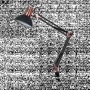 LAMPĂ DE BIROU LUKE  1XE27 NEAGRĂ H700mm
