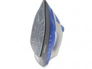 Fier de calcat Nikai NK1658, 2000 W, talpa ceramica Alb/Albastru