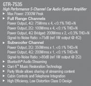 AMPLIFICATOR PE 5 CANALE JBL GTR-7535