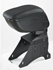 Cotiera auto universala neagra si cusatura neagra