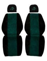 Huse scaune auto 2 Piese pentru MERCEDES Verde