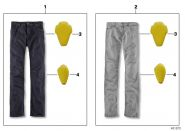 Pantaloni Jeans FivePocket