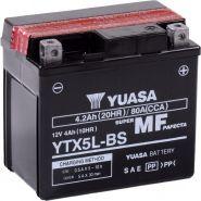 Yuasa 12V 4Ah YTX5L-BS