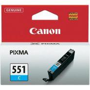 Cartus cerneala Canon CLI-551C, cyan, capacitate 7ml