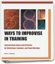 58.5 Modalitati de a Improviza in Training / 58.5Ways To Improvise In Training (cu traducere) - Digital Version