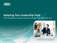 Adapting Your Leadership Style E-Learning (engleza & traducere in romana)