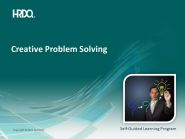 DEMO GRATUIT: Creative Problem Solving E-Learning
