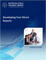 Developing your direct reports