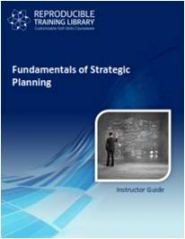 Fundamentals of strategic planning