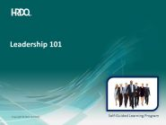 Leadeship 101 E-Learning (situational)