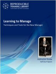 Learning to manage  (engleza & traducere in romana)