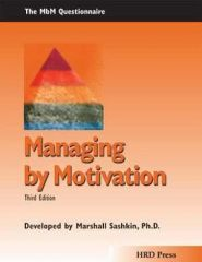 Managing by Motivation Self-Assessment