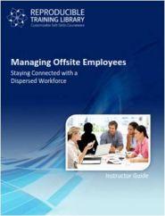 Managing offsite employees