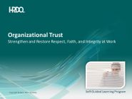 DEMO GRATUIT: Organizational Trust E-Learning