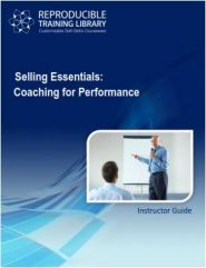SELLING ESSENTIALS: Coaching for performance