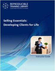 (cu traducere) SELLING ESSENTIALS: Developing clients for life