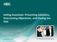 DEMO GRATUIT: SELLING ESSENTIALS: Presenting solutions E-Learning