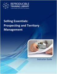 SELLING ESSENTIALS: Prospecting and territory management