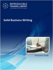 Solid business writing  (engleza & traducere in romana)