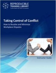 Taking control of conflict