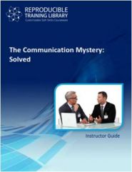 The communication mystery: solved  (engleza & traducere in romana)