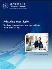 DEMO GRATUIT: Adapting Your Leadership Style
