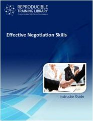 DEMO GRATUIT: Effective Negotiation Skills