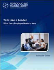 DEMO GRATUIT: Talk like a leader