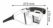 Aspirator profesional GAS 12 V-LI Solo (fara acumulatori si incarcator)