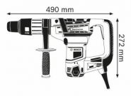 Ciocan rotopercutor SDS-max GBH 5-40 D