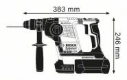 Ciocan rotopercutor SDS-plus GBH 36 V-LI Plus x 2 acumulatori 4 Ah