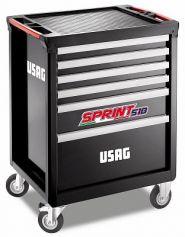 Dulap mobil Sprint cu set auto -6 sertare echipat cu 149 scule