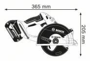 Ferastrau circular GKM 18 V-LI Solo (fara acumulatori si incarcator)