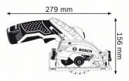Ferastrau circular GKS 12V-26 Solo (fara acumulatori si incarcator)