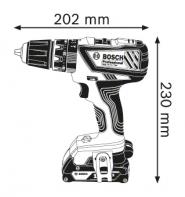 Masina de gaurit cu percutie GSB 18-2-LI x 2 acumulatori 4.0 Ah