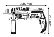 Masina de gaurit cu percutie GSB 19-2 RE