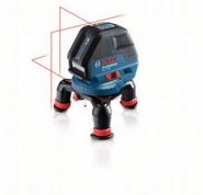 Nivela laser cu linii GLL 3-50 + Suport universal BM 1 Professional + Suport pentru LR 2 + Receptor laser LR 2 Professional L-BOXX