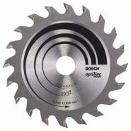 Panza de ferastrau circular Optiline Wood 130 x 20 / 16 mm , 20 dinti